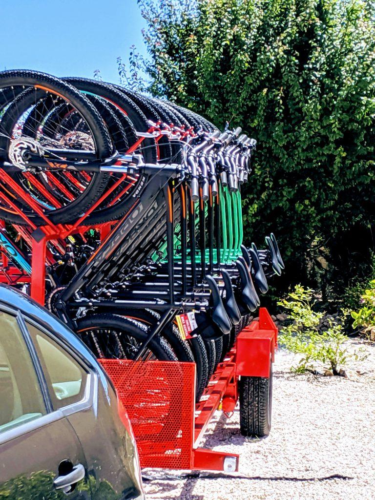 Online bike rental