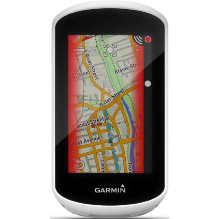 Garmin Edge Explore danger